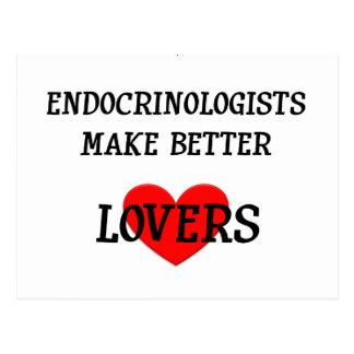 Los endocrinólogos hacen a mejores amantes tarjetas postales