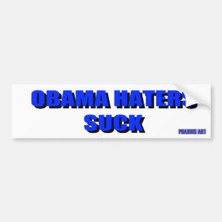 Los enemigos de Obama chupan a la pegatina para el Pegatina Para Auto