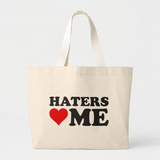 Los enemigos me aman bolsa tela grande