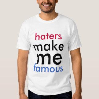 Los enemigos me hacen la camisa famosa