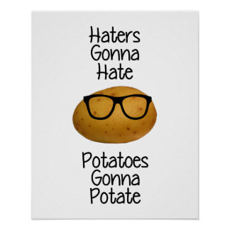 Los enemigos que van a odiar las patatas que van poster