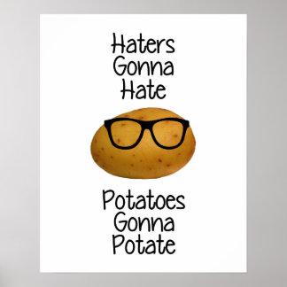 Los enemigos que van a odiar las patatas que van póster