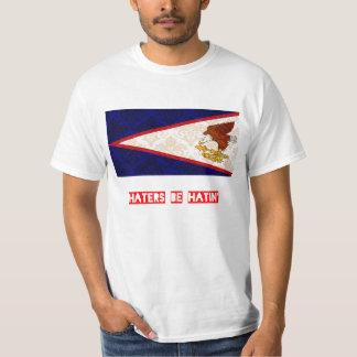 Los enemigos sean hatin American Samoa Camisas
