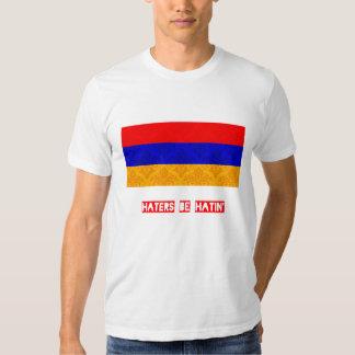 Los enemigos sean hatin Armenia Remera