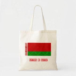 Los enemigos sean hatin Bielorrusia Bolsa Tela Barata
