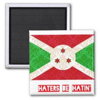 Los enemigos sean hatin Burundi Imán De Frigorifico