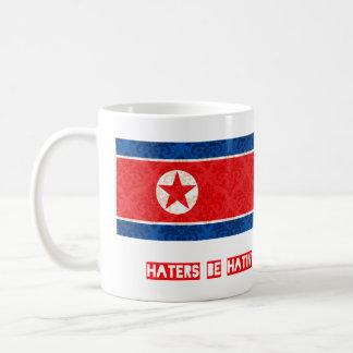 Los enemigos sean hatin Corea del Norte Taza Clásica
