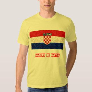 Los enemigos sean hatin Croacia Poleras