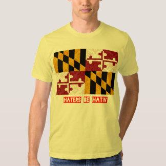 Los enemigos sean hatin Maryland Camisas