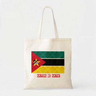 Los enemigos sean hatin Mozambique Bolsa Tela Barata
