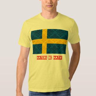 Los enemigos sean hatin Suecia Poleras