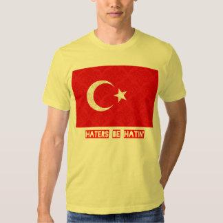 Los enemigos sean hatin Turquía Playera