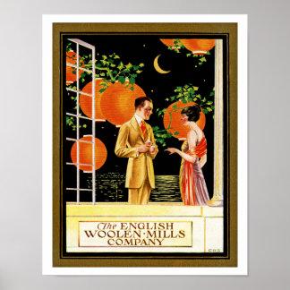 Los English Woolen Mills Company Posters