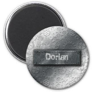 Los engranajes metálicos con la etiqueta empernada imanes para frigoríficos