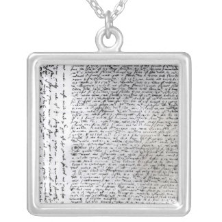 Los envíos escritos de sir Francis Drake Collar Personalizado
