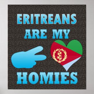 Los Eritreans son mi Homies Póster