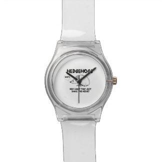 Los erizos no comparten reloj de mano