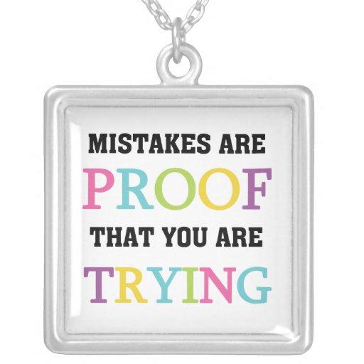 Los errores son prueba que usted está intentando joyerias