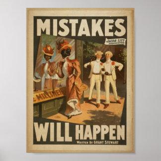 """Los errores sucederán, al lado del vintage T de """"G Impresiones"""
