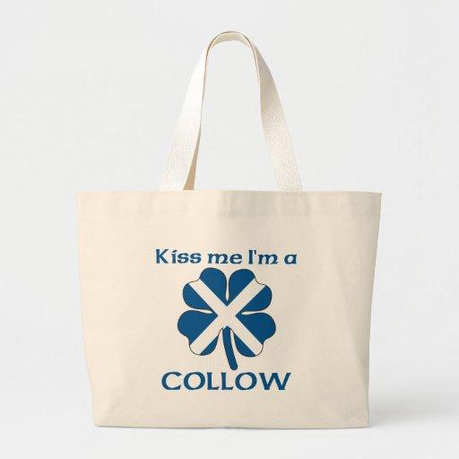 Los escoceses personalizados me besan que soy Coll Bolsas