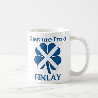 Los escoceses personalizados me besan que soy Finl Taza De Café