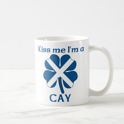 Los escoceses personalizados me besan que soy isle taza