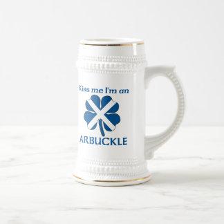 Los escoceses personalizados me besan que soy jarra de cerveza