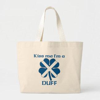 Los escoceses personalizados me besan que soy sin  bolsas de mano