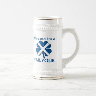 Los escoceses personalizados me besan que soy Tail Taza