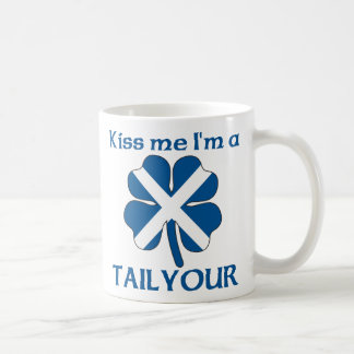 Los escoceses personalizados me besan que soy Tail Tazas