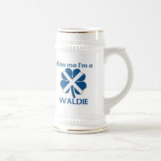 Los escoceses personalizados me besan que soy Wald Taza De Café