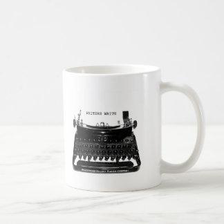 Los ESCRITORES ESCRIBEN la taza del escritor