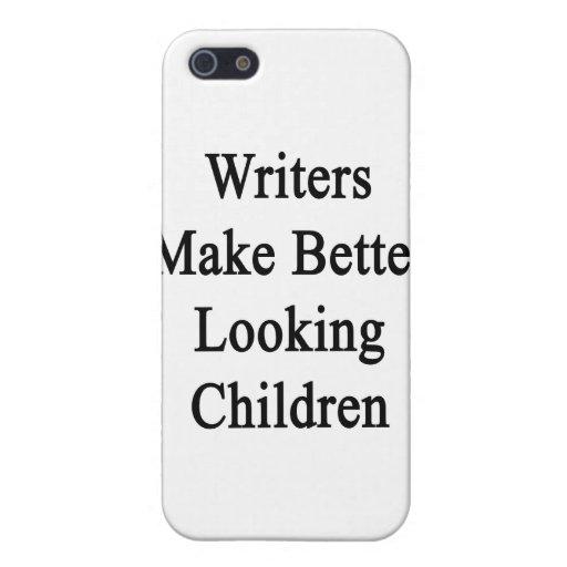 Los escritores hacen a niños más apuestos iPhone 5 carcasa