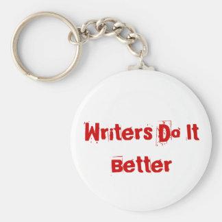 Los escritores mejora llavero