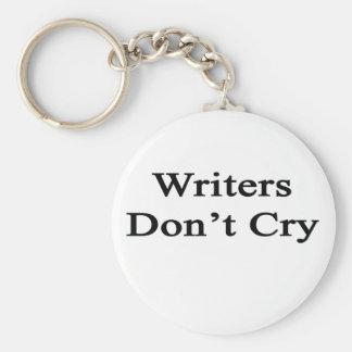 Los escritores no lloran llavero