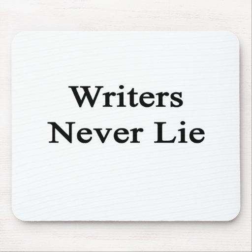 Los escritores nunca mienten tapetes de ratones