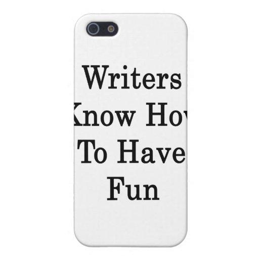 Los escritores saben divertirse iPhone 5 protectores