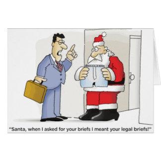 Los escritos legales de Santa Tarjeta