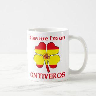 Los españoles personalizados me besan que soy Onti Taza De Café