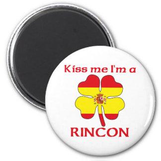 Los españoles personalizados me besan que soy Rinc Imán Redondo 5 Cm