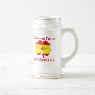 Los españoles personalizados me besan que soy Sama Taza De Café