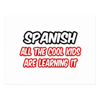 Los españoles… todos los niños frescos lo están ap tarjetas postales