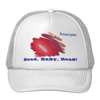 Los espirales rojos de AR leyeron el gorra leído