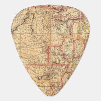 Los Estados Unidos de América 12 Púa De Guitarra