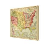 Los Estados Unidos de América, 1900 Impresión En Lienzo