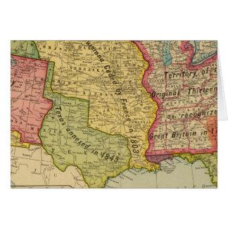 Los Estados Unidos de América, 1900 Tarjeta De Felicitación