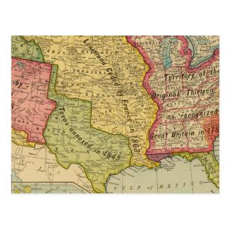 Los Estados Unidos de América, 1900 Tarjetas Postales