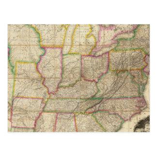 Los Estados Unidos de América 3 Tarjeta Postal