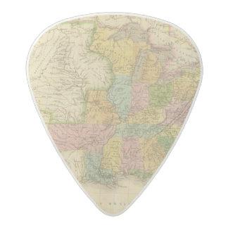 Los Estados Unidos de América 4 2 Púa De Guitarra Acetal
