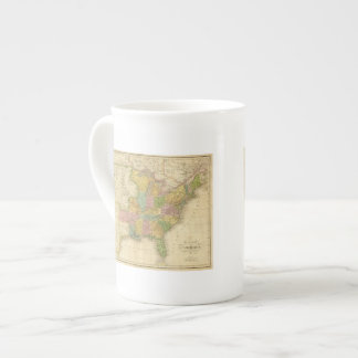 Los Estados Unidos de América 4 2 Taza De Porcelana